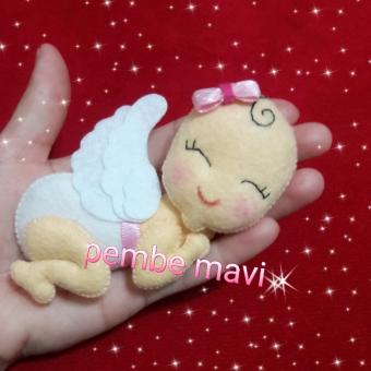 Uyuyan bebek magnet