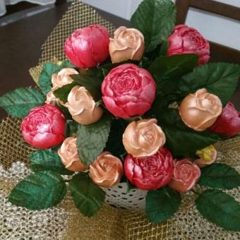 Kırmızı Çiçek Buketi