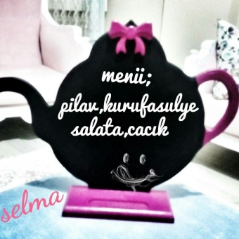 Çaydanlık kara tahta