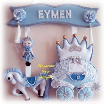 Prensli Bal Kabağı Kapı Süsü