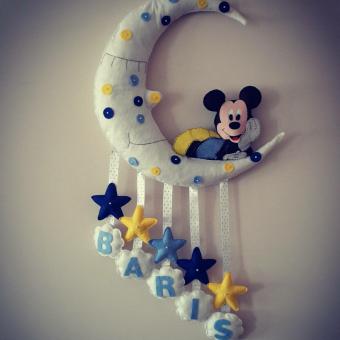 Mickey Mouse Kapı Süsü