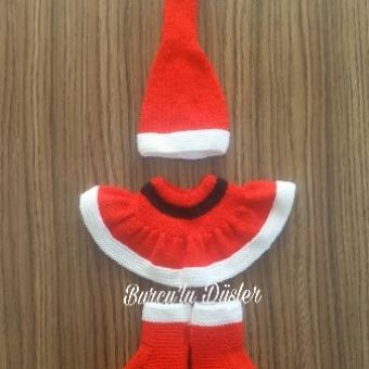 Yenidoğan örgü kostüm